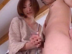 Incredible Japanese model Akari Asahina in Fabulous Couple, Handjob JAV movie