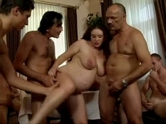 dad's Allies Group-Sex his preggy daughter