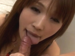 Ai Kurosawa gets cum on ass cheek at school