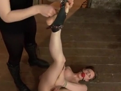 BDSM porn video featuring Iona Grace and Mz. Berlin