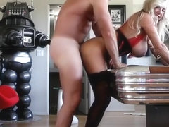 Cute buxomy experienced female featuring hot handjob sex video