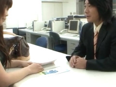 Interview wet Tiny Japanese Teen