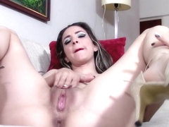 Up Close Inside My Gaping Cunt with Tight Skinny MILF Lisa