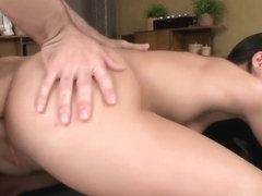 Aruna in POV getting her tender booty plowed