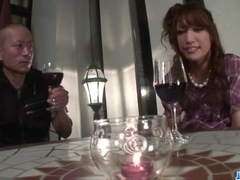 ### Aya Sakuraba gets nasty with her wet pussy